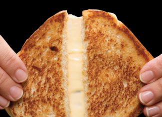Zeb Stevenson Grilled Cheese