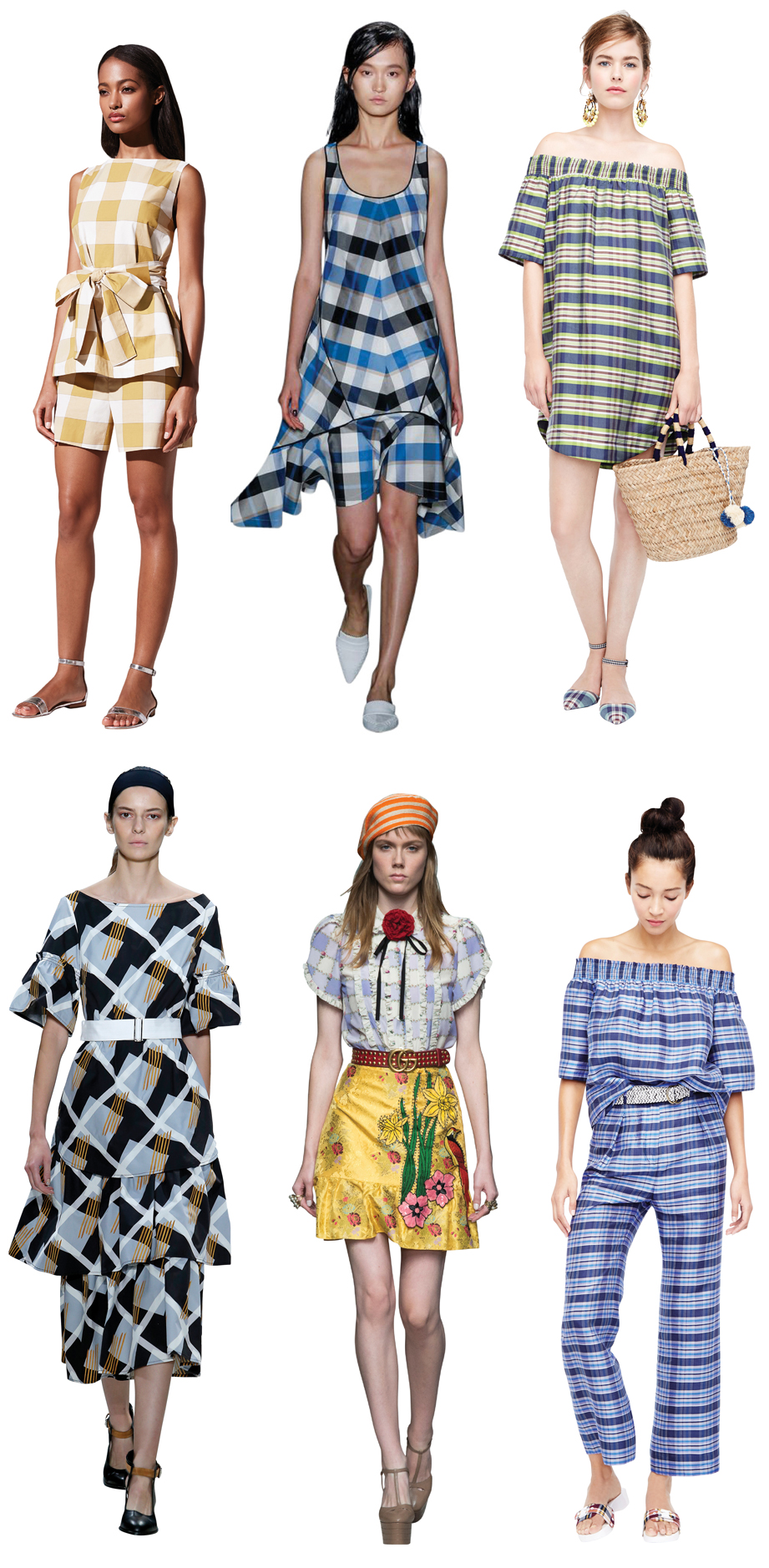 Spring/Summer 2016 trends Chessboard Pattern