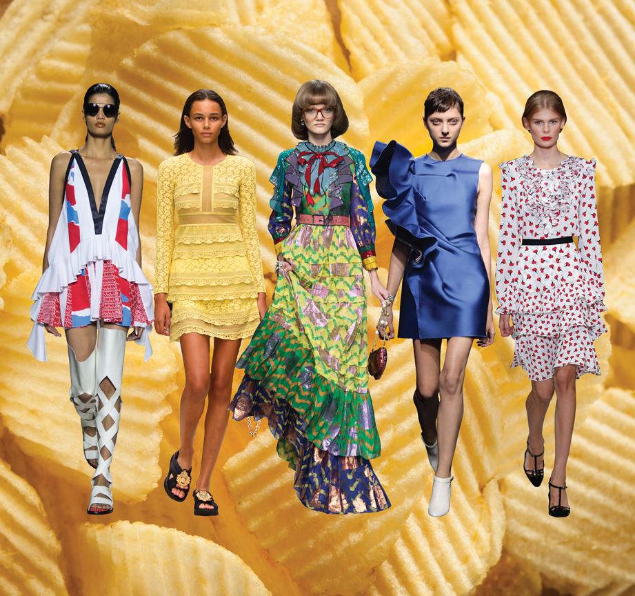 Spring/Summer 2016 trends ruffles