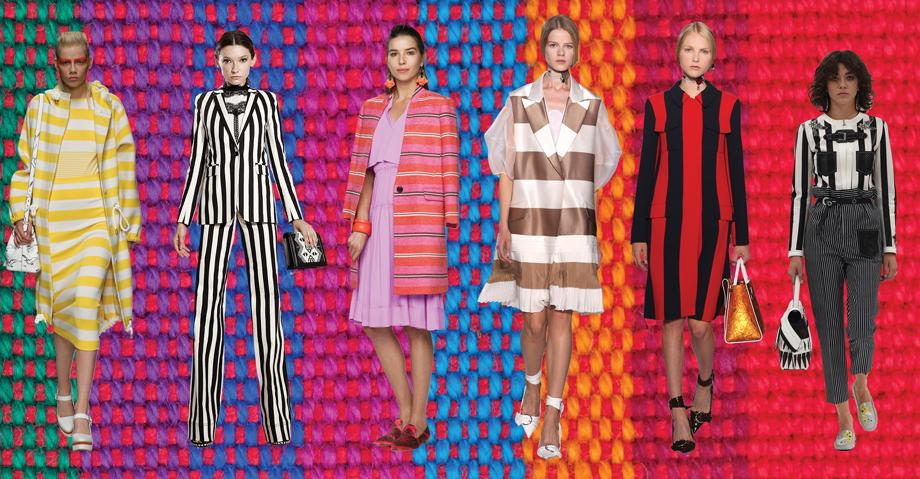 Spring/Summer 2016 trends stripes