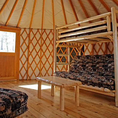 Experience glamping at Sweetwater Creek State Park's new yurt village