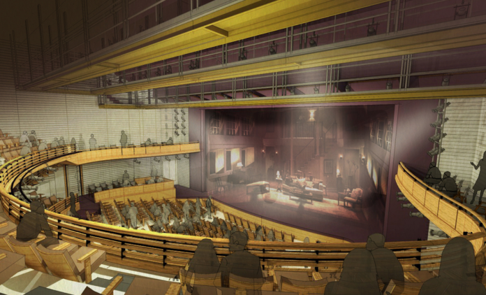 Alliance Theatre rendering