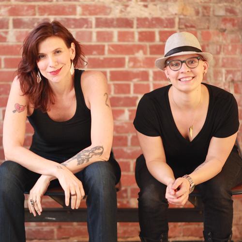Carrie Schrader and Charlene Fisk
