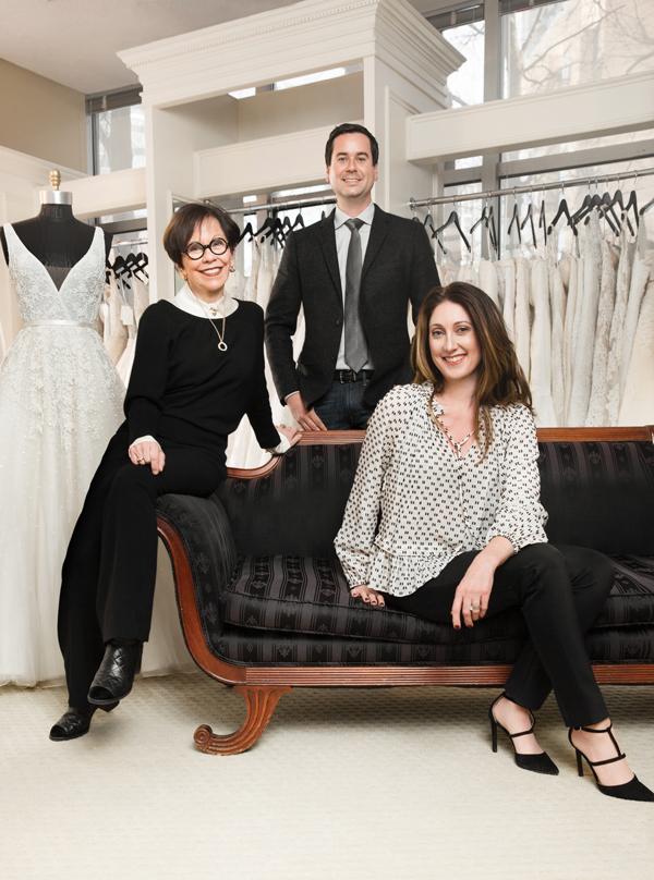 Bridal designer Anne Barge expands into evening wear