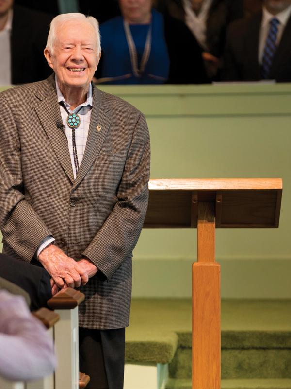 Jimmy Carter Sunday School Plains Georgia