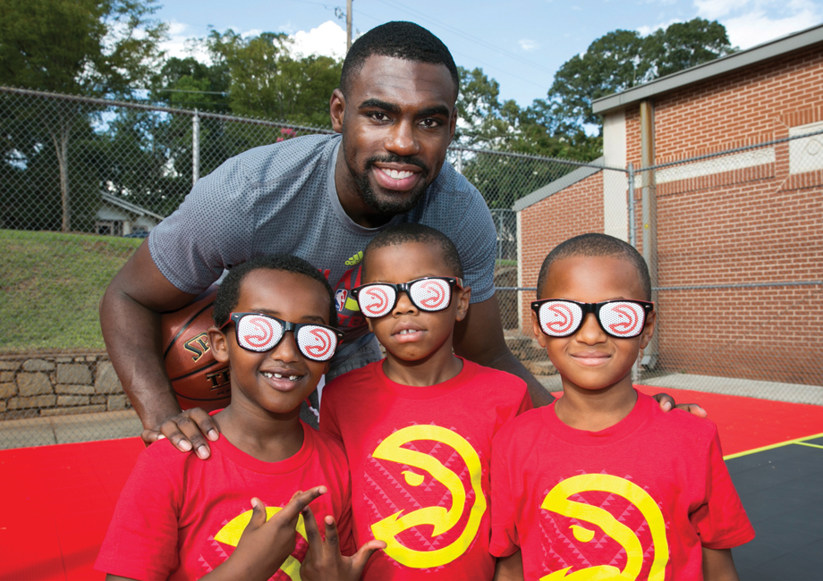 Things to do with kids in Atlanta Hawks basketball courts