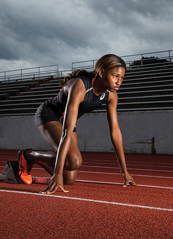 Candace Hill is the fastest girl alive