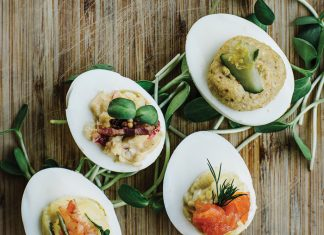Twain's Savannah Haseler's Deviled Eggs
