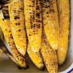 Wade grilled corn