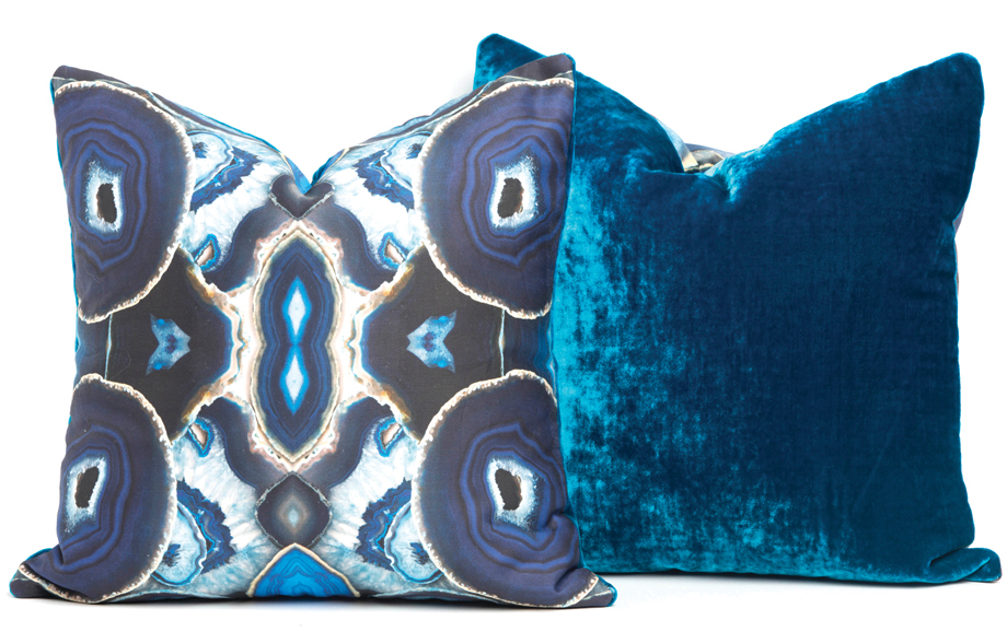 Agate pillows