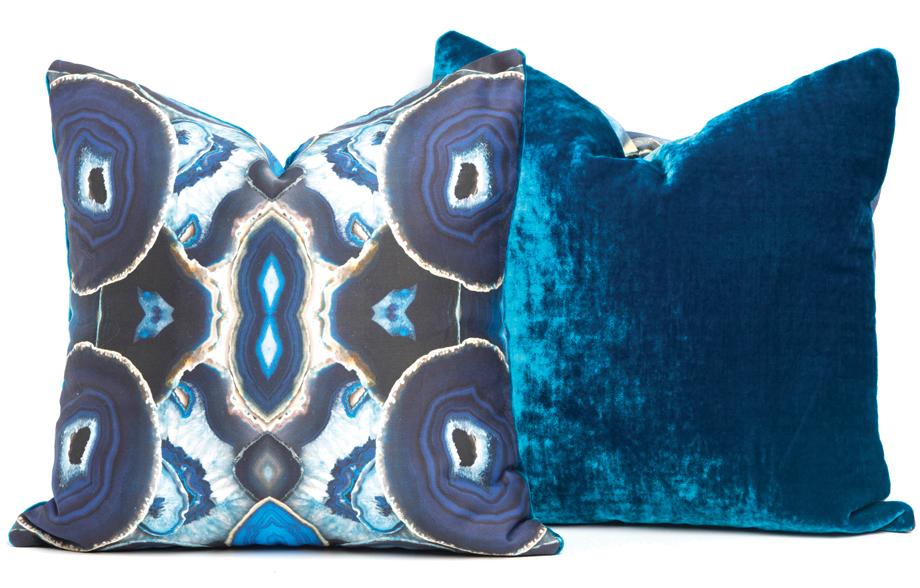 Agate pillows