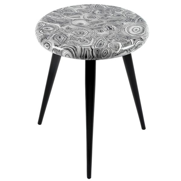 Malachite stool