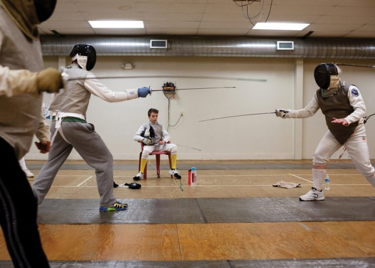 One Square Mile: The 12-year-old Atlanta fencer