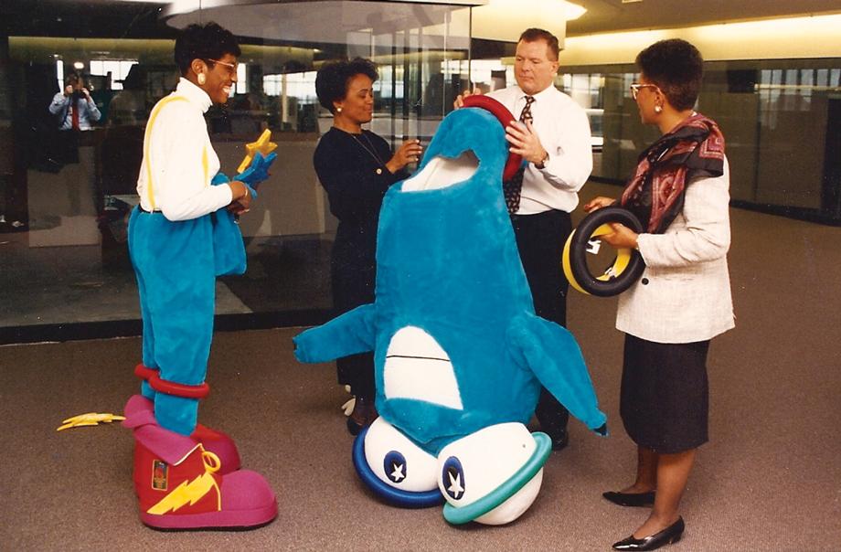 1996 Atlanta Olympics Izzy