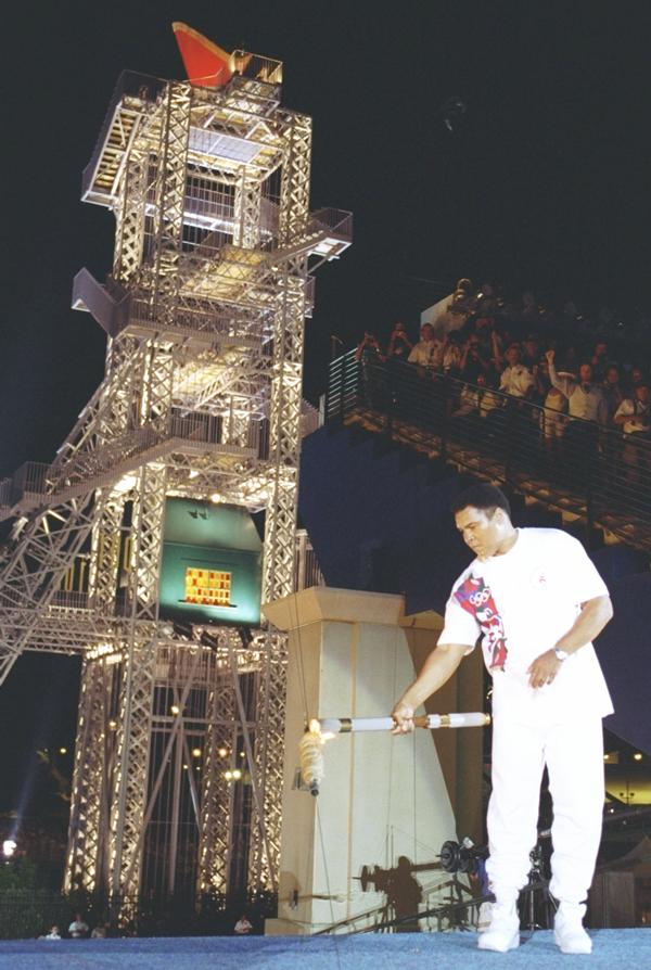 1996 Olympics Muhammad Ali