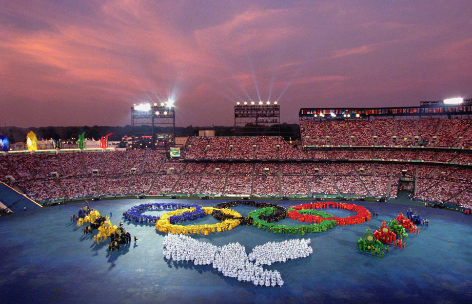 1996 Summer Olympics opening ceremony