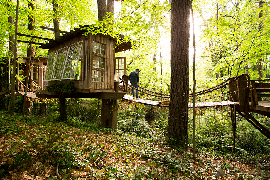 Atlanta Airbnb tree house