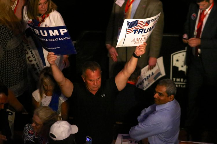 An ardent Donald Trump fan