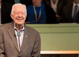 Jimmy Carter Sunday School Plains Georgia