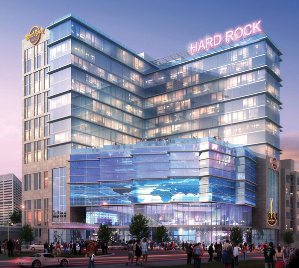 Hard Rock hotel Atlanta
