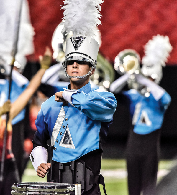 Southeast's best drum and bugle corps face off at the Georgia Dome