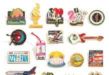 1996 Atlanta Olympic pins