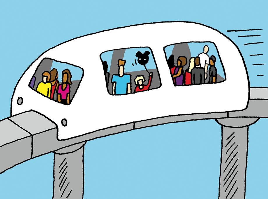 Stranger than fiction transit