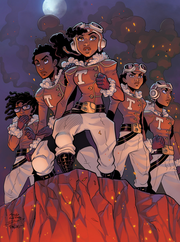 How two Atlanta artists used crowdfunding to launch Tuskegee Heirs