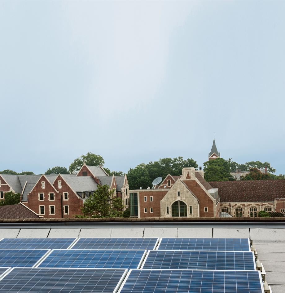 Agnes Scott solar power