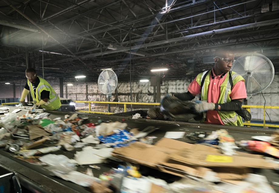 Where does my recyling go? Atlanta