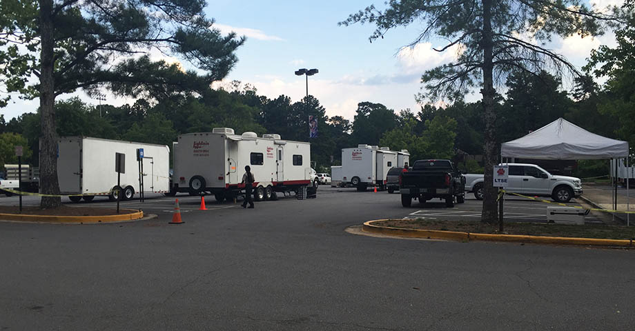 What's filming in Atlanta now?
