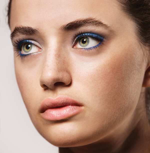 Yes, you can wear blue eye shadow. Here's how.