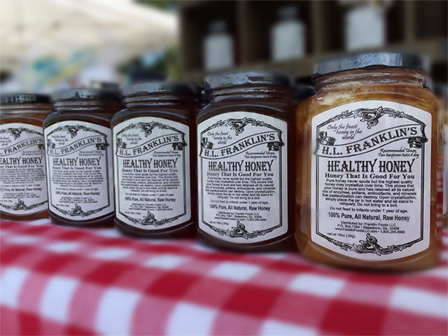 H.L. Franklin's Healthy Honey
