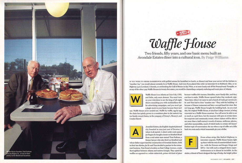 How Waffle House Became A Cultural Icon Atlanta Magazine