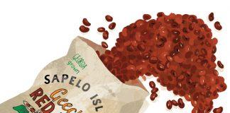 Geechee red peas