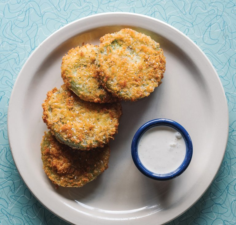 Technique: How to make Fried Green Tomatoes, from Home Grown GA's Kevin Clark