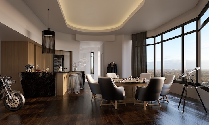House Envy Living The High Lifemandarin Orientals Penthouse Is