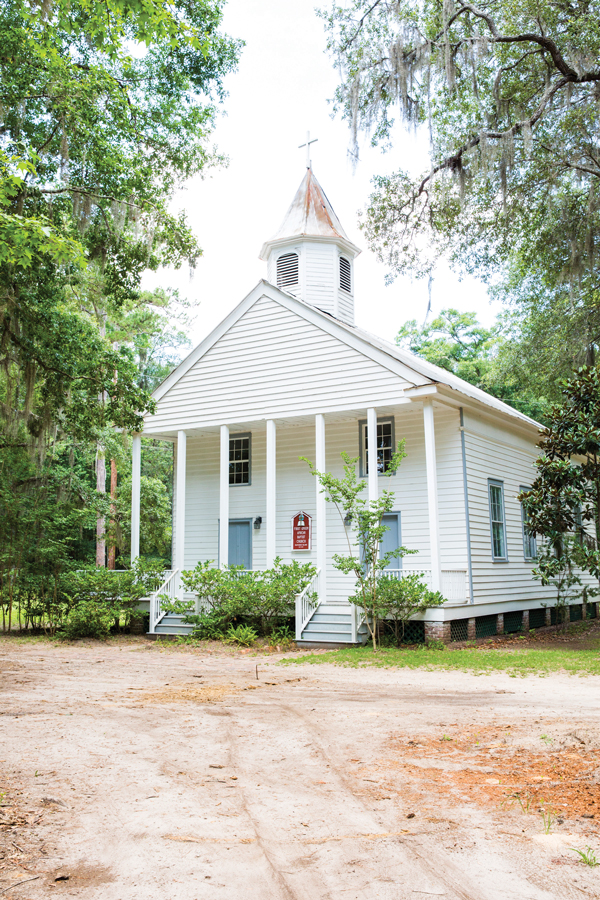 First Union African Baptist Church on the island dates to 1879 and has roughly fifty members.