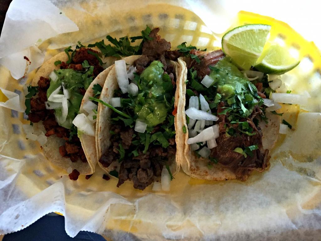 Tacos La Villa.