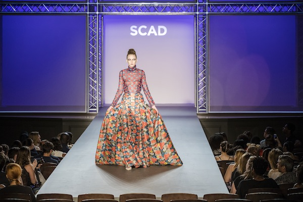 A look by Jeffrey Taylor at SCAD's graduation show in May