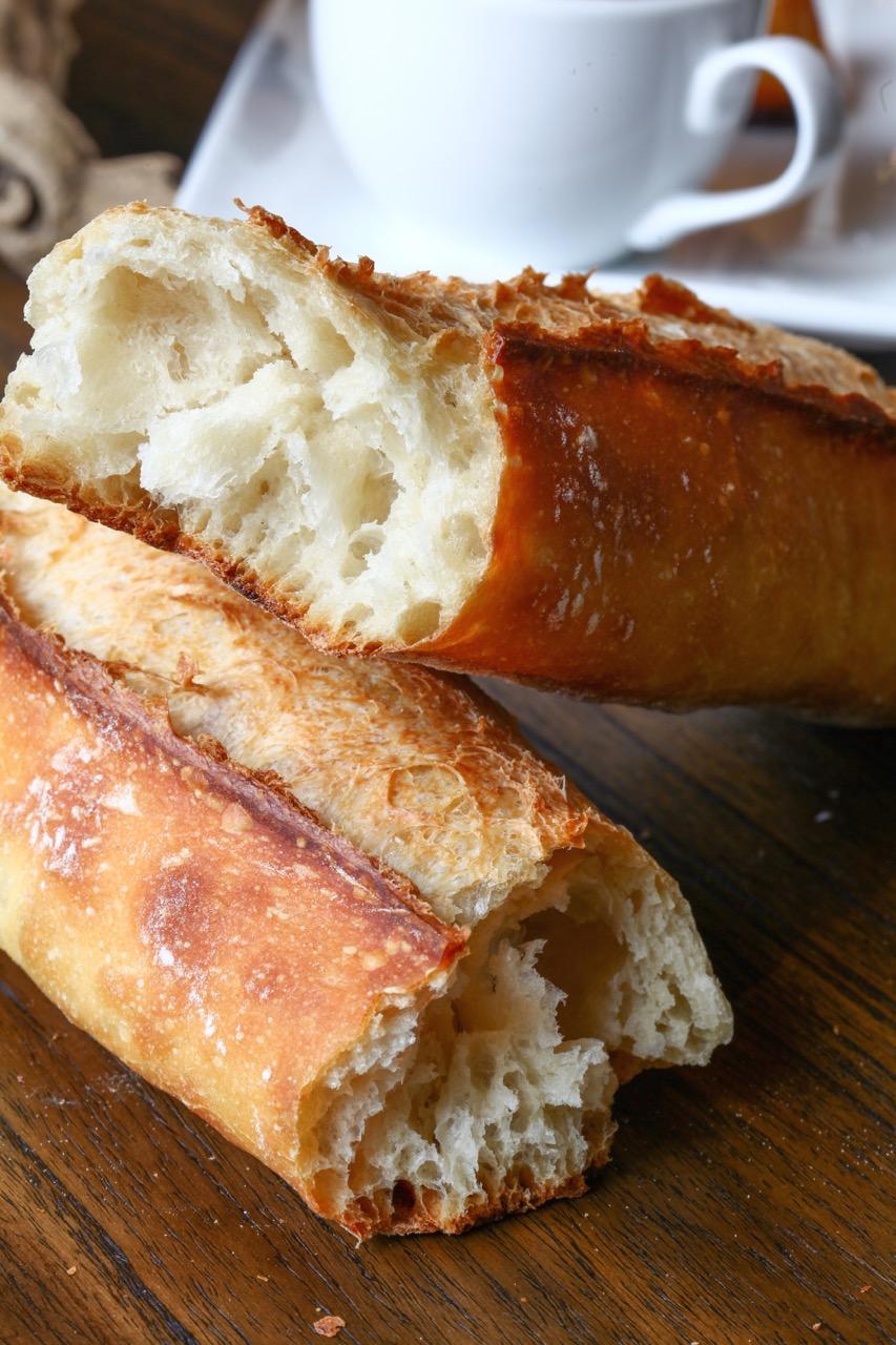 The baguette at Café Vendôme.
