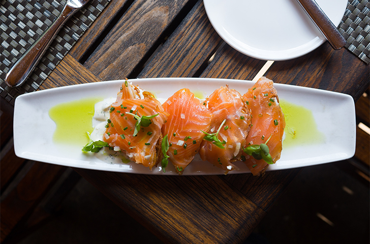 Eat This: Canoe's Smoked Salmon
