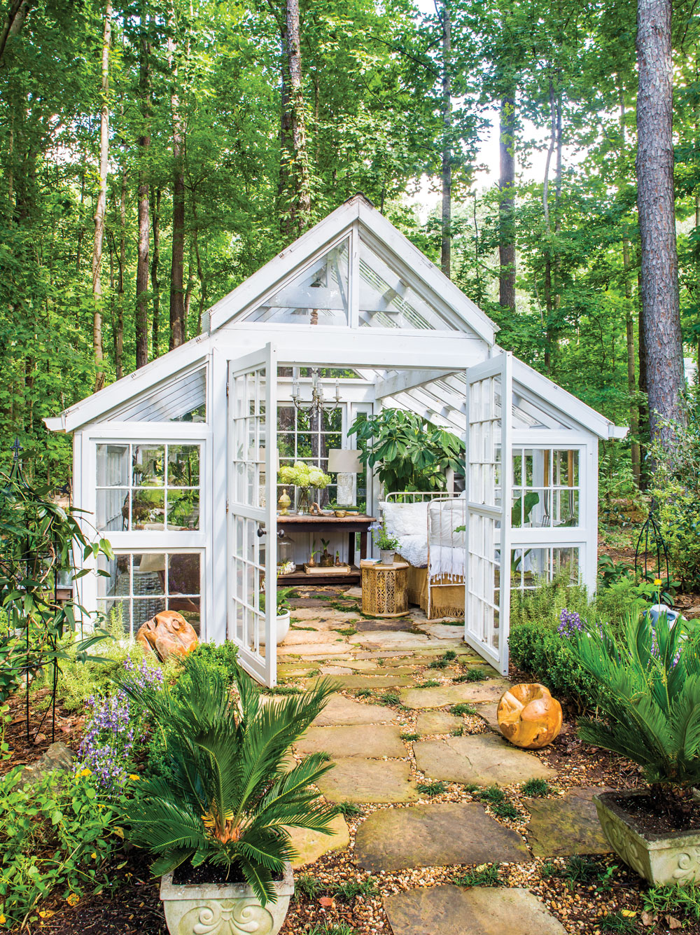 Room Envy: This Glass Garden House In Marietta Is A