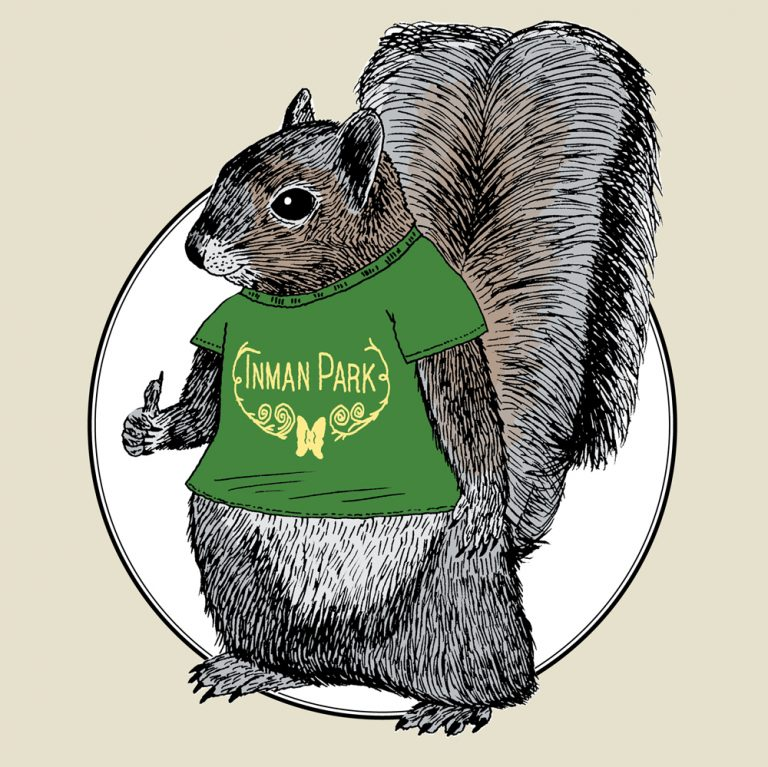 """Welcome to Inman Park, home of the """"Squirrel Census"""""""