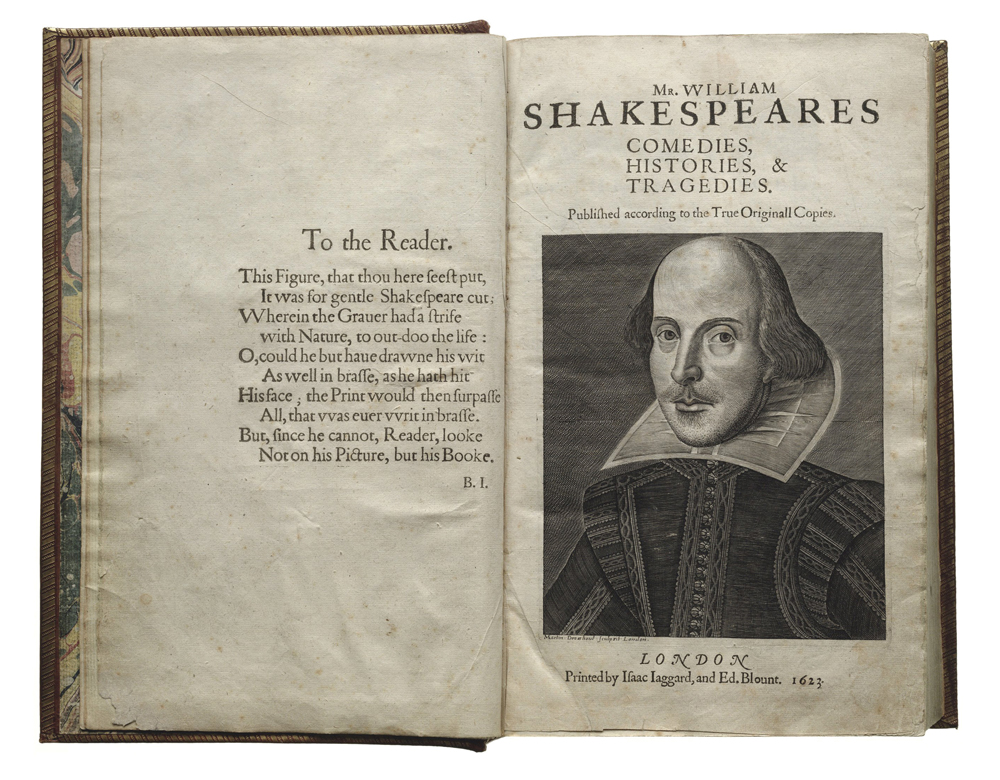Shakespeare's first folio Atlanta