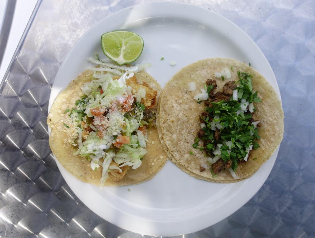 Tacos at Taqueria Acapulco.