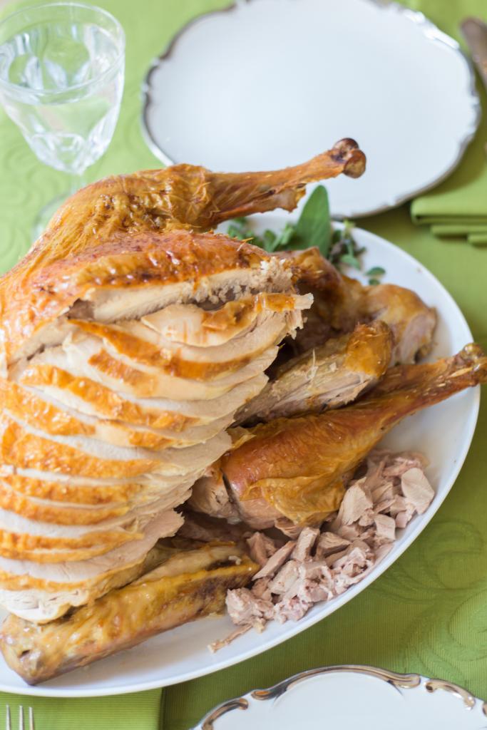 Turkey from Peach Dish
