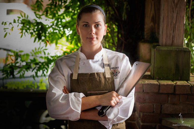 Twain's Savannah Sasser dropped vegetarianism and became a butcher