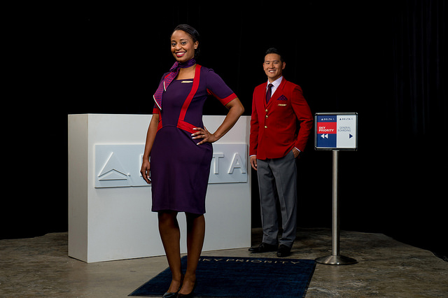 Looks that will greet passengers at the gate