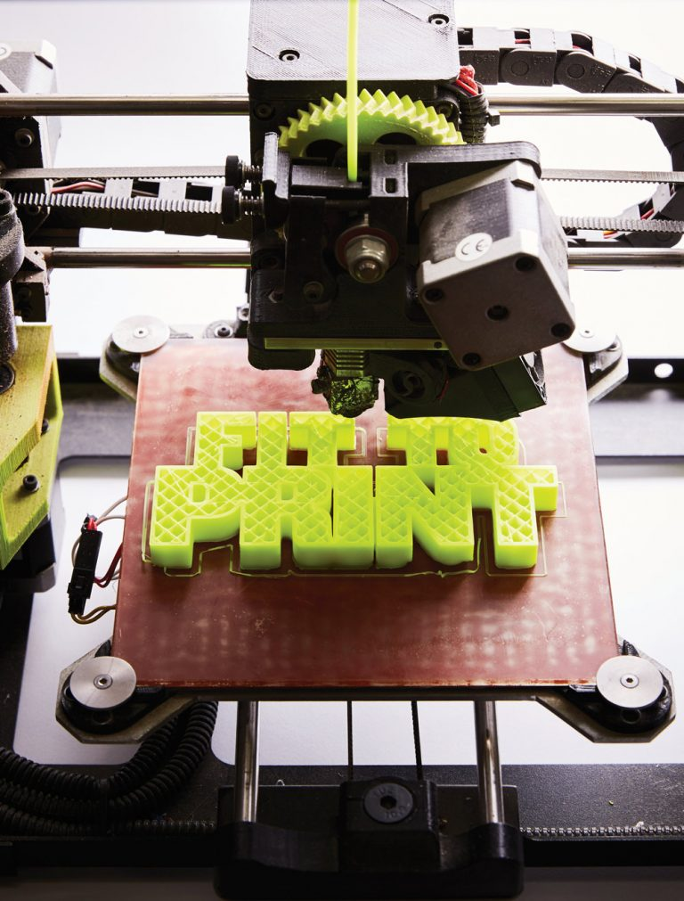 3-D printing is powering the next industrial revolution. Meet 5 of Atlanta's innovators.
